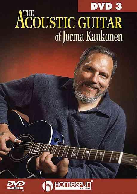ACOUSTIC GUITAR OF JORMA KAUKONE V 3 BY KAUKONEN,JORMA (DVD)