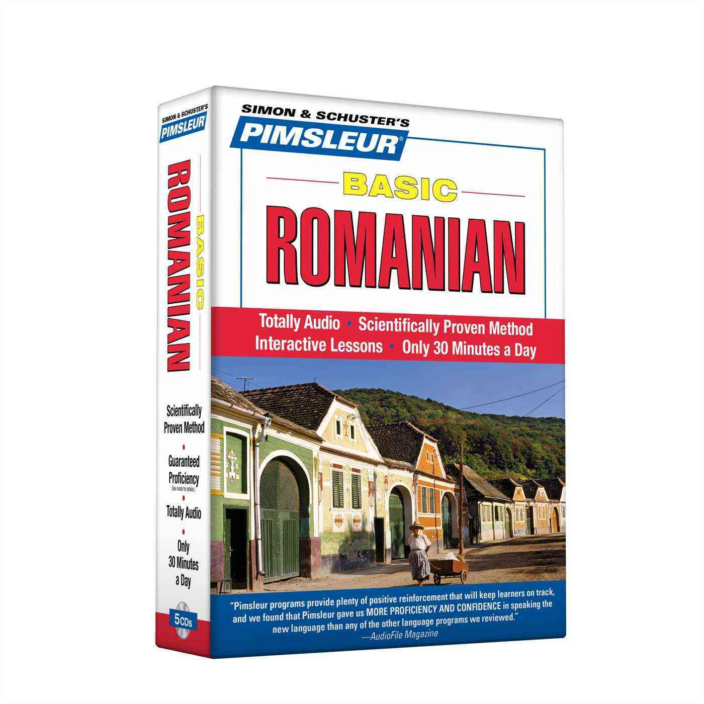 [CD] Pimsleur Basic Romanian By Pimsleur (COR)